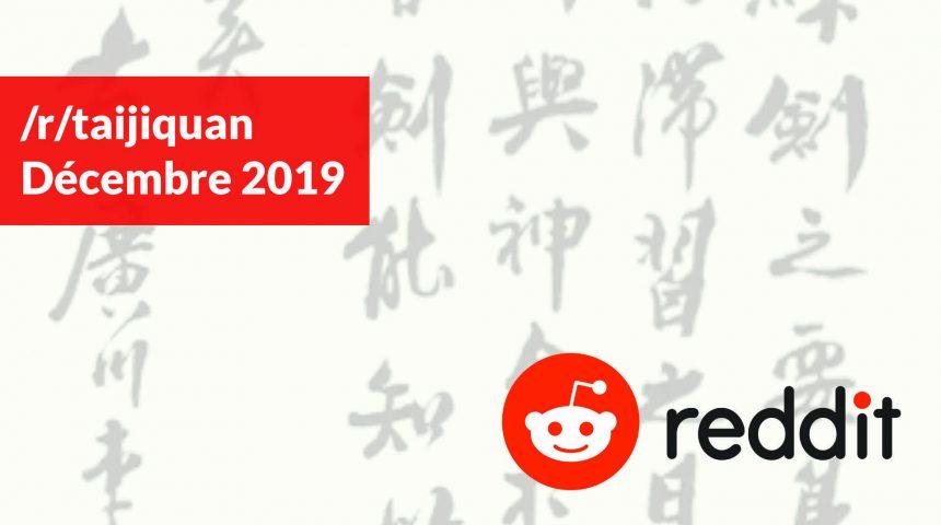 quoi de neuf sur reddit /r/taijiquan