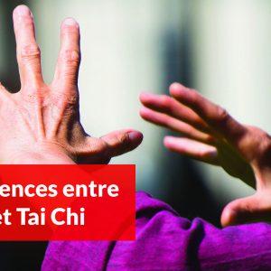 Les différences entre Qi Gong et Tai Chi