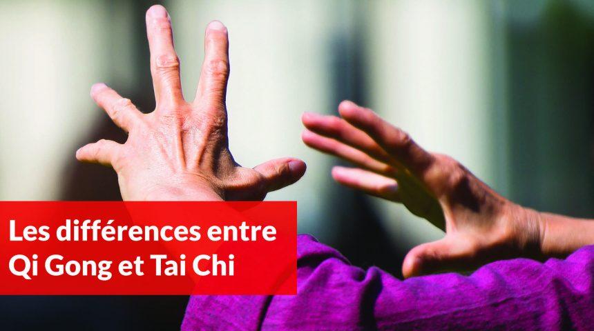 les différences entre tai chi et qi gong