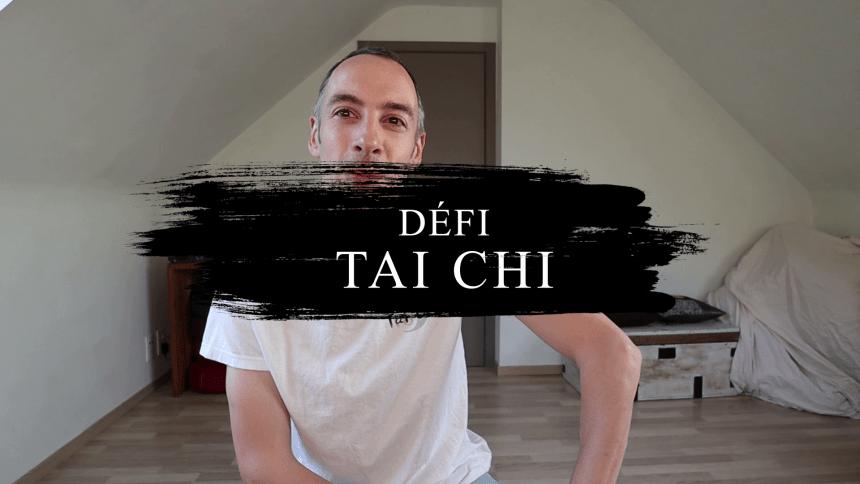 Défi Tai Chi – 5 minutes dans la posture du Coq d'Or
