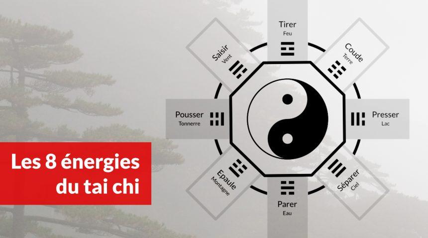 les 8 énergies du tai chi chuan