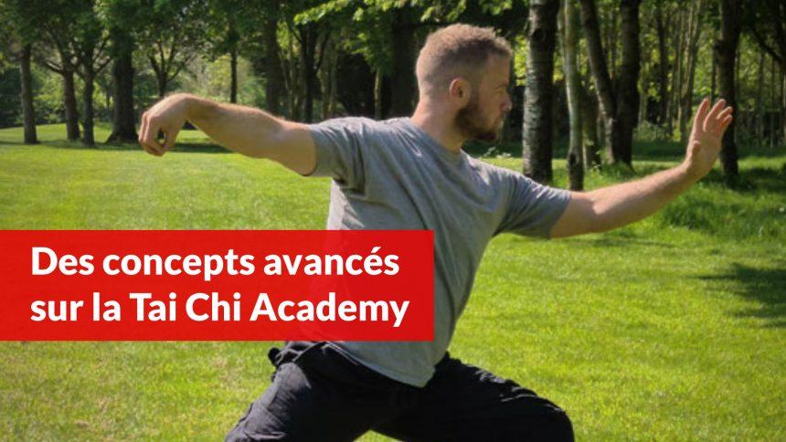 Des concepts avancés sur la Tai Chi Academy