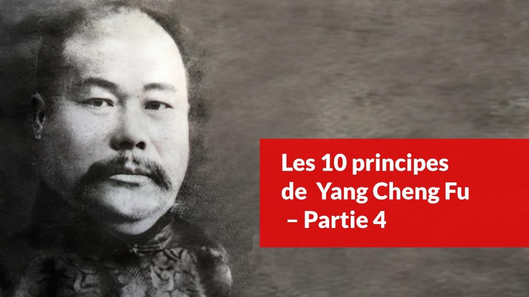 les 10 principes-de yang cheng fu partie 4