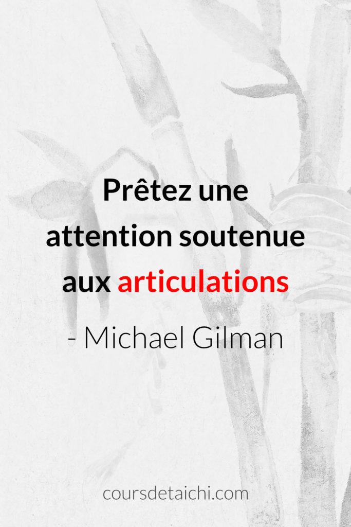 citation tai chi articulation gilman