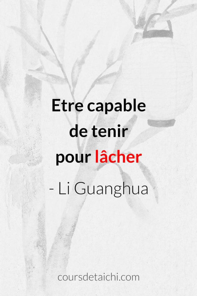 citation tai chi lacher li guangua