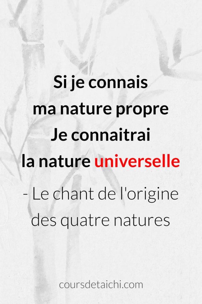 citation tai chi nature universelle