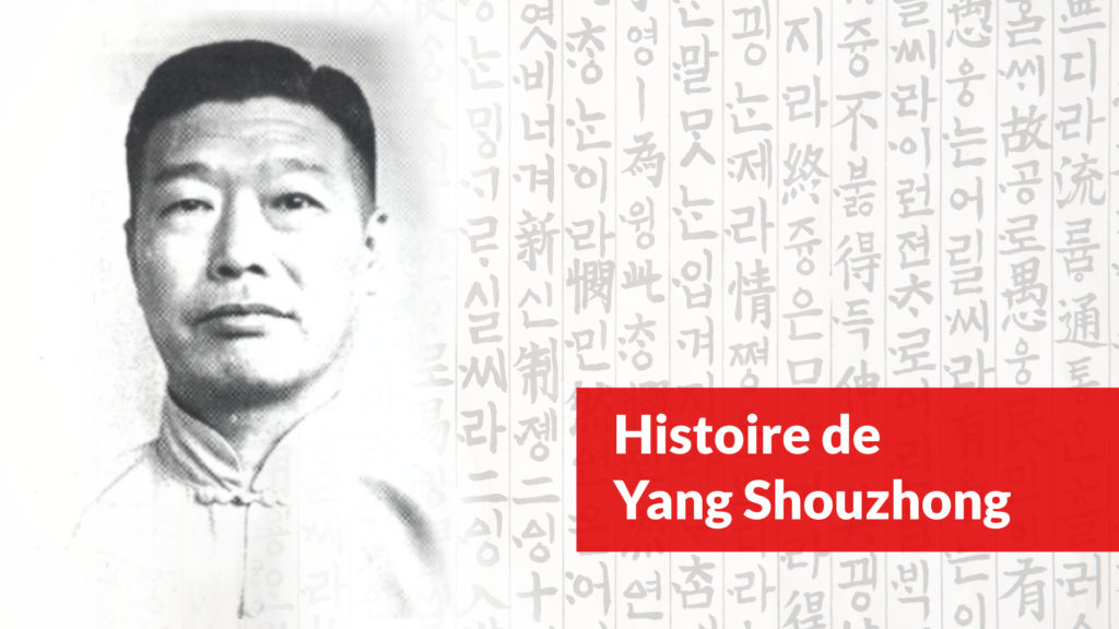histoire de yang shouzhong