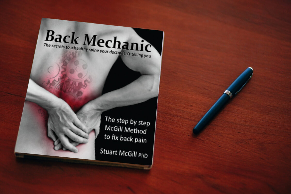 livre back mechanics stuart mc gill